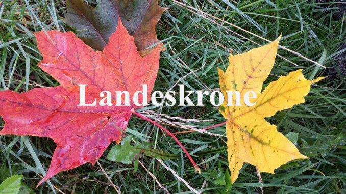 Herbstfärbung Landeskrone Görlitz