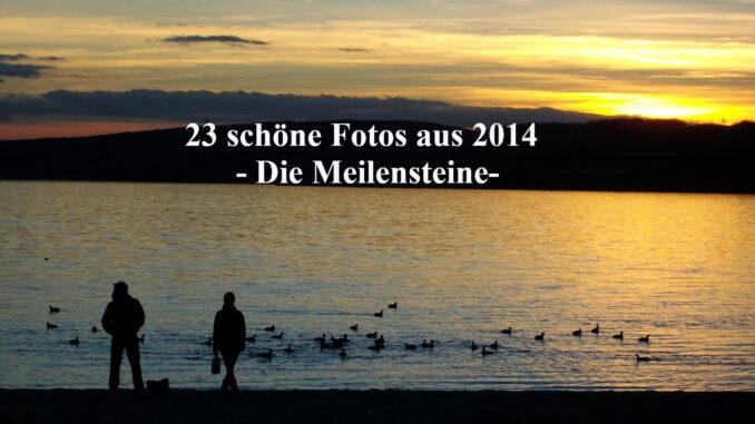 23 Meilensteine 2014