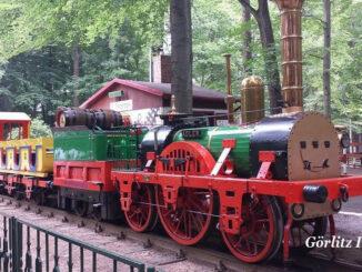 Erlebnis Görlitz - Parkeisenbahn fahren