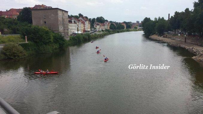 Kanu fahren Neiße Görlitz