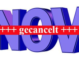 November Veranstaltungen Goerlitz gecancelt
