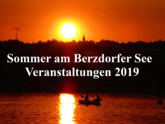 Termine Sommer Berzdorfer See