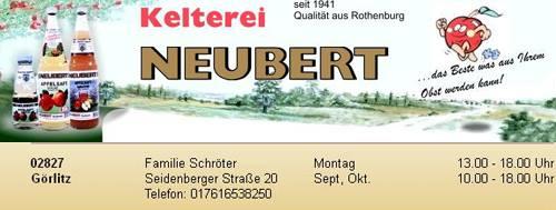 Neubert Saft Görlitz