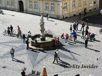 Heroldbrunnen Görlitz Obermarkt