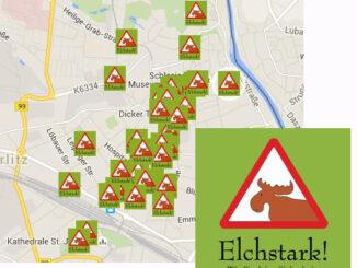 Elchstark in Görlitz