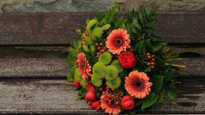 Blumenstrauss Meridian des Ehrenamtes Goerlitz