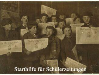 Starthilfe fuer Schuelerzeitungen