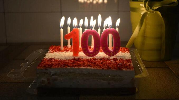 Geburtstag 100