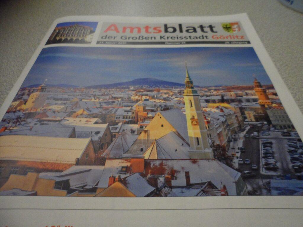 Das neue Amtsblatt Stadt Görlitz
