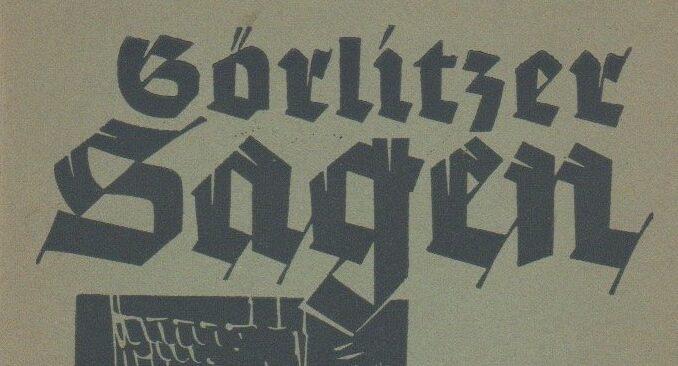 Görlitz Sagen K Haupt 1863